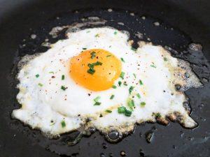 Les oeufs sont riches en cholestérol