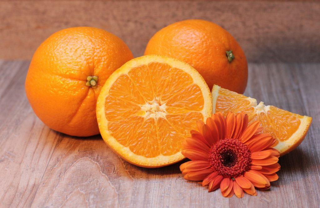 Oranges et vitamine C