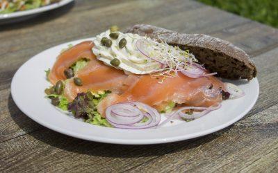 Una dieta basada en salmón (ahumado, crudo,…)?