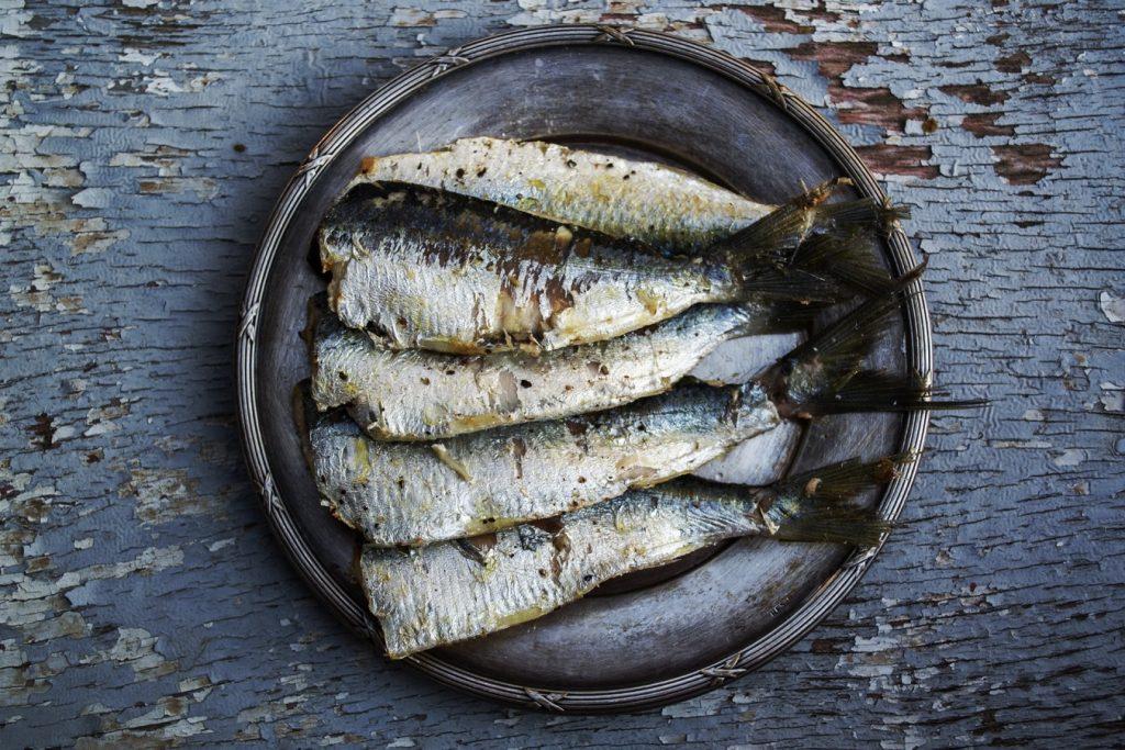 Les sardines sont riches en omega