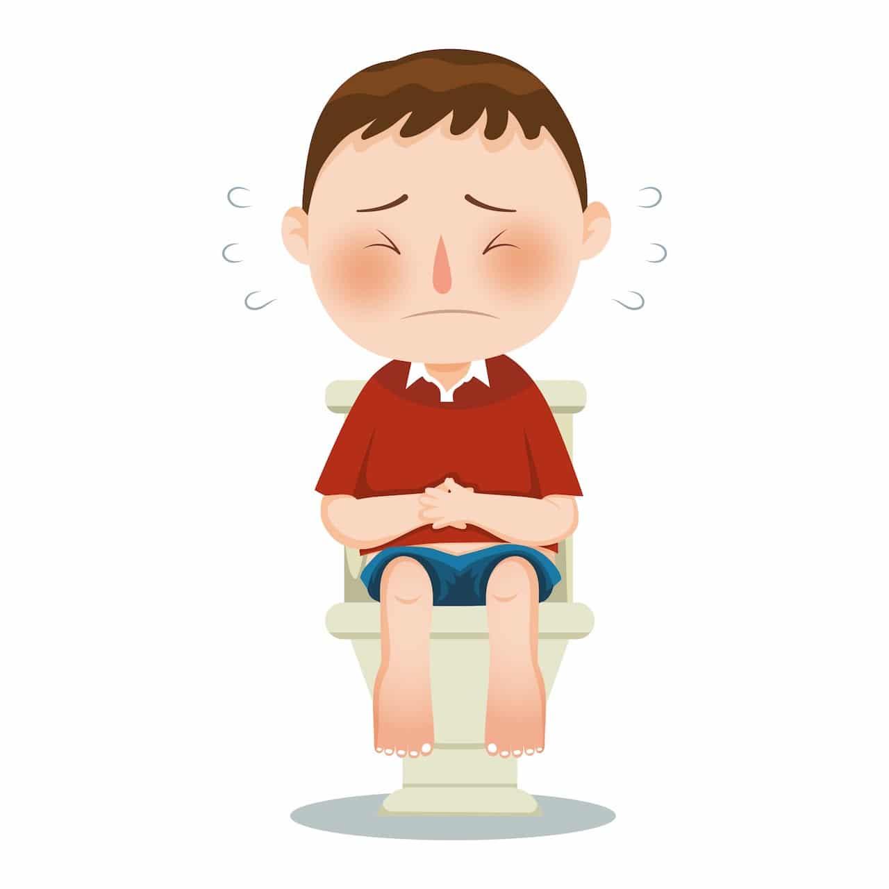 La constipation est une difficulté à émettre ses selles régulièrement