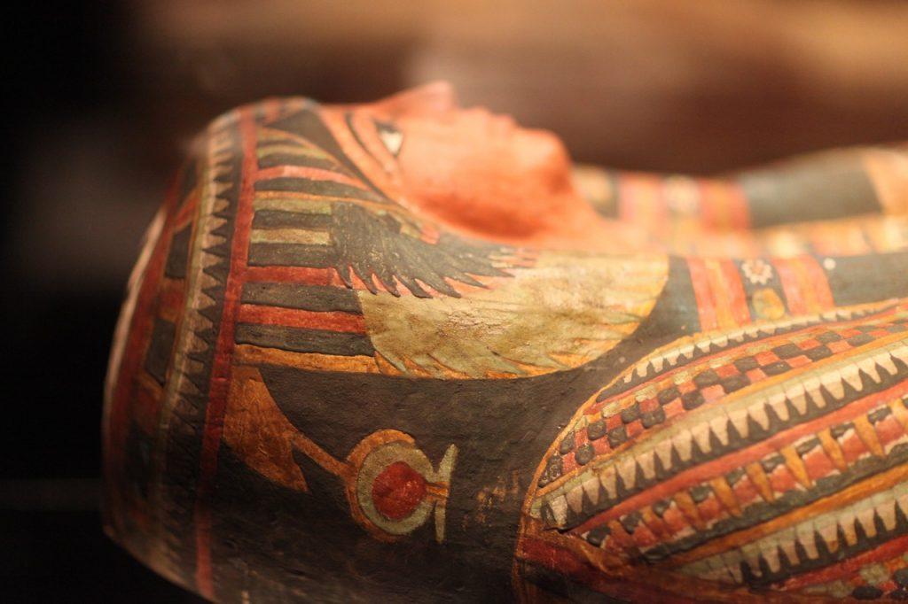Sarcophage de pharaon