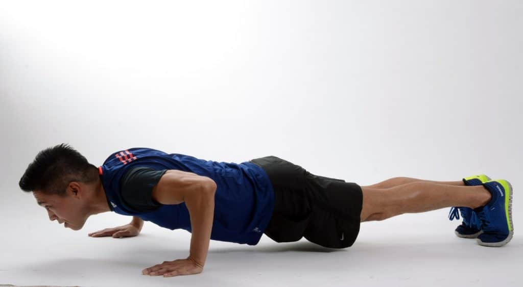 The Plank Challenge exercise