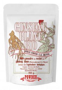 Ginseng Blanc Bio