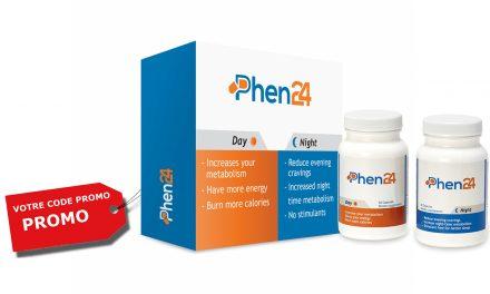 Code Promo Phen24 : jusqu'à 20 % de remise pour acheter Phen24 pas cher