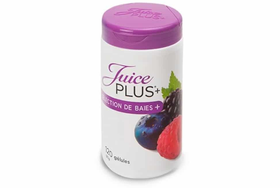 Gélules de baies Juice Plus