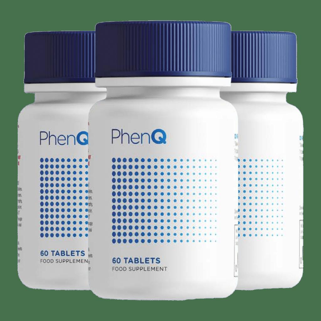 3 bouteilles de Phenq