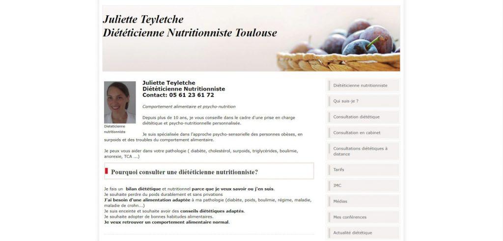 Diététiciens à Toulouse