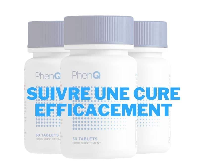 PhenQ, suivre une cure efficacement