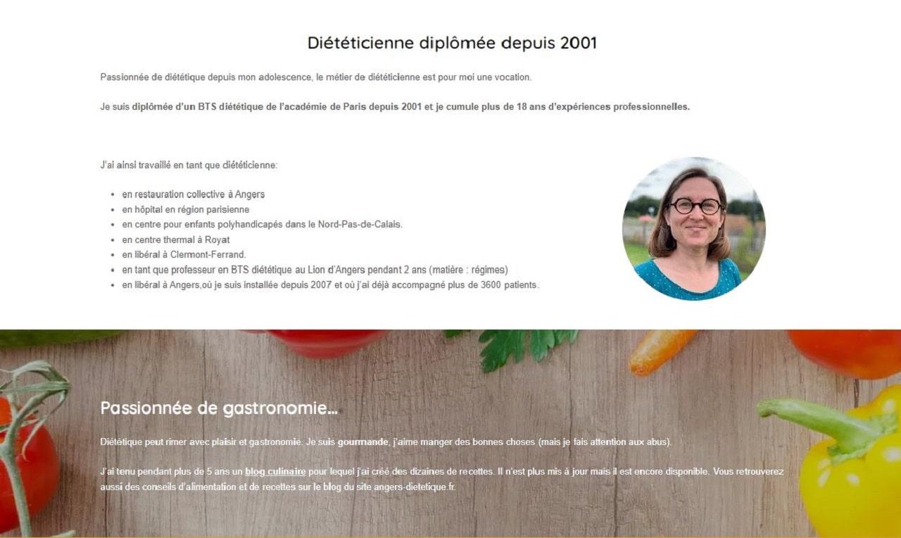 Quels sont les meilleurs diététiciens/nutritionnistes sur Angers et sa région ?