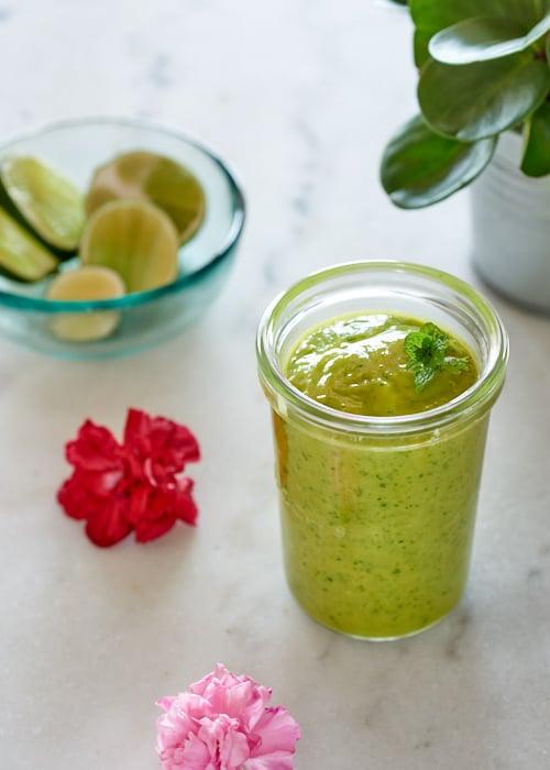 smoothie-vert-mangue vanessa cuisine