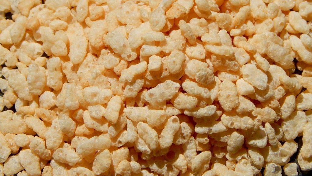 galette de riz soufflé