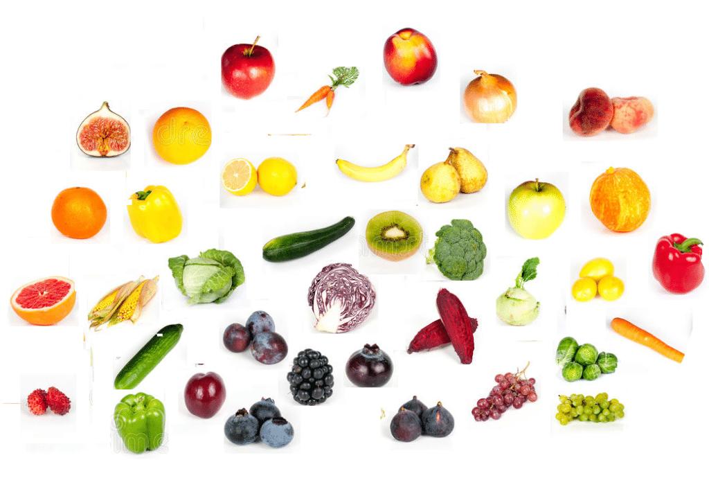 légumes et fruits d'automne