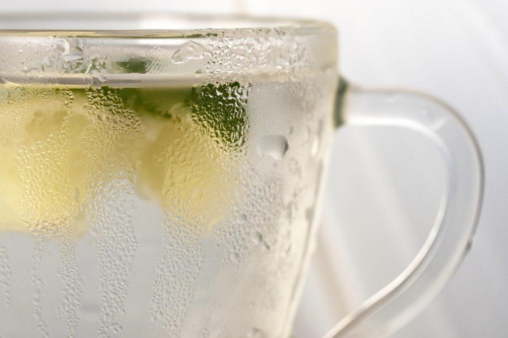 boisson avec rondelle de fruits