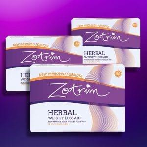 Trois boîtes de Zotrim