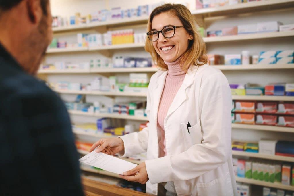 Achat en pharmacie
