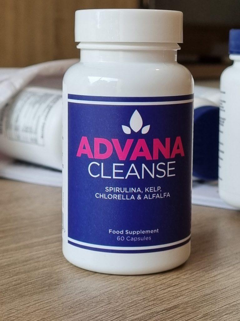 La bouteille d'Advana Cleanse offerte avec ma commande