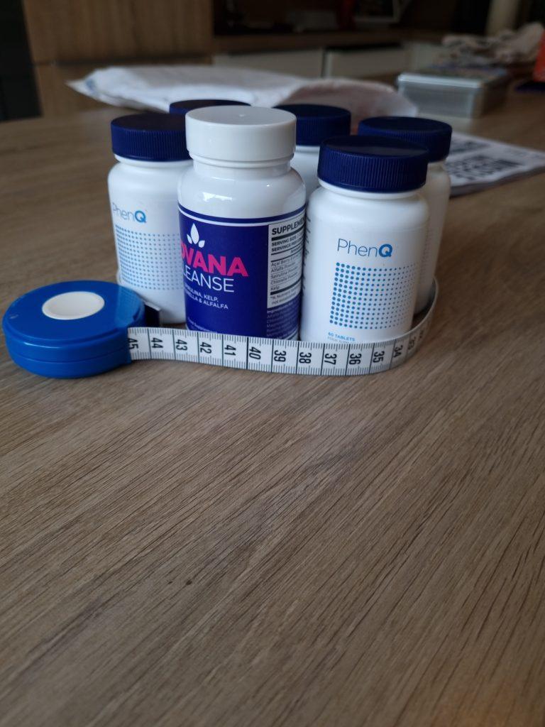 Mon mètre ruban pour mesurer les effets de ma cure de PhenQ